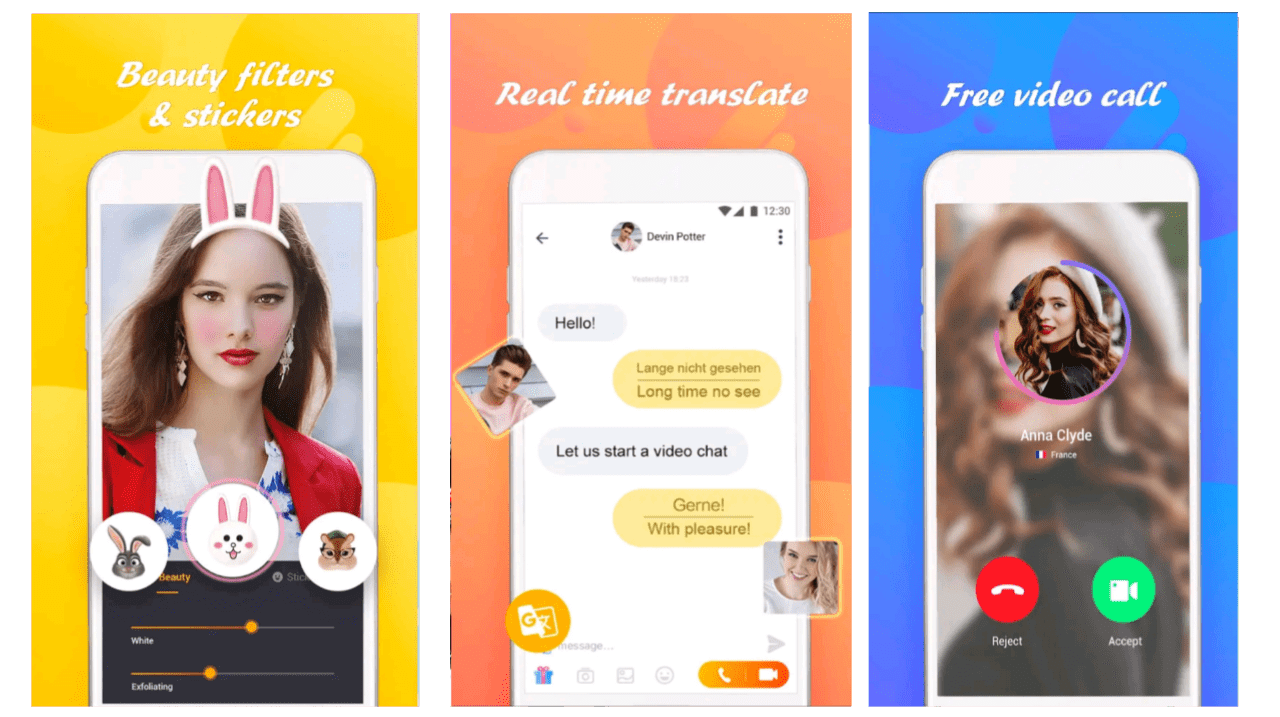 Strangers with free chat app video live Live Video