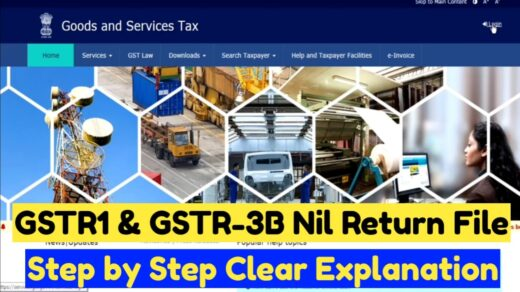 How to File nil Return in GST